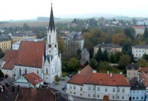Vistas de Melk desde la Abadía